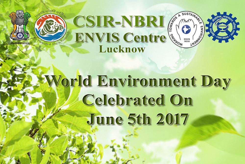 World Environment Day celebrated on June 5th 2017