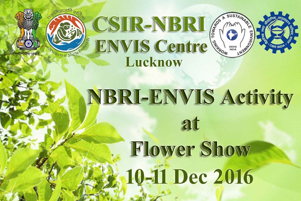 NBRI ENVIS activity in CSIR-NBRI in Flower Show