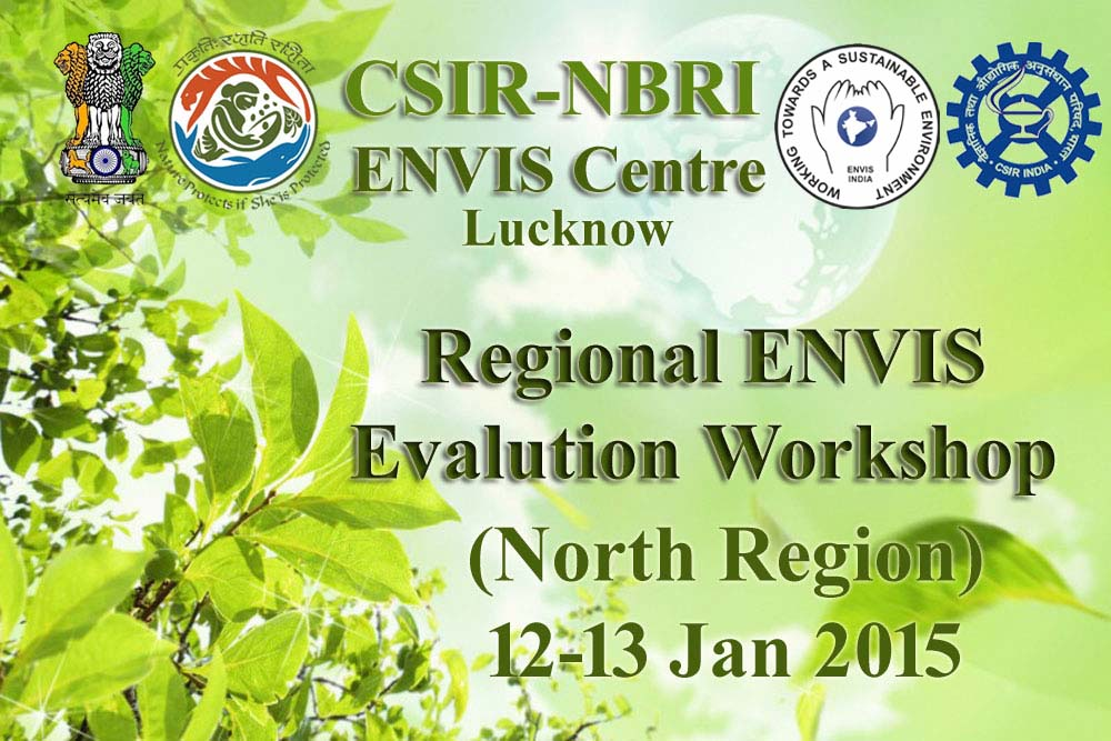 Regional Evaluation Workshop for ENVIS (centres)